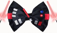 Perfect to wear at the parks or while cosplaying. Makes a great gift! *Listing is for one bow. Please make your selection at the checkout. Please feel free to ask questions. If you would like this as a bow tie, please let us know in the notes section at checkout so that we may adjust the alligator hair clip to fit a mens collared shirt. Follow us on IG @PreciousWonderland for giveaways and coupon codes! *Approximately 4.5 x 3 inches *Handcrafted and made to order *Please allow 2-3 weeks...