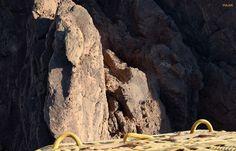 Wadi Rum bajo mis pies. Jordania