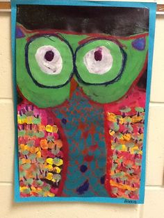 WHAT'S HAPPENING IN THE ART ROOM??: 1st Grade Owls