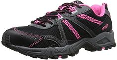 Fila Womens Ascent 12 Trail Runner BlackSugarplumCastle Rock 75 M US *** Learn more by visiting the image link. (This is an affiliate link)