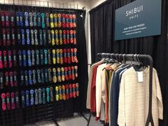 Shibui's booth at TNNA 2016.
