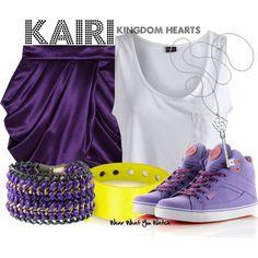 I don't know if I'd ever get it, but this skirt is amazing. Inspired by Kingdom Hearts character Kairi.