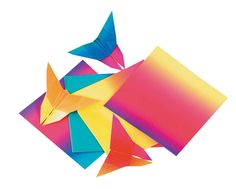 School Specialty Light-Weight Origami Paper, 6 X 6 in, Assorted Transparent Color, Pack of 100 #mycdwishlist