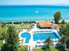 Grecotel Pella Beach Resort 4 Stars luxury hotel in Kassandra - Hanioti Offers Reviews