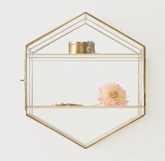 RH TEEN's Mirrored Glass Wall-Mount Curio Case:Clear as day. Showcase trinkets and treasures with our glass jewelry cases. Featuring an elegant…