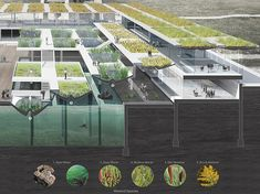 augmented tides research and education center concept architecture augmented tides research and education center concept Water Architecture, Landscape Architecture Design, Architecture Board, Concept Architecture, School Architecture, Sustainable Architecture, Architecture Diagrams, Architecture Portfolio, Modern Architecture