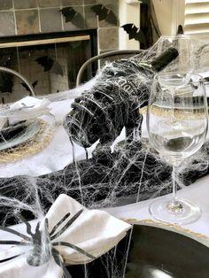 Kara's Party Ideas Haunted Halloween Dinner Party | Kara's Party Ideas