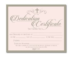 Baptism baby welcoming and blessing certificates free for Baptism class certificate template
