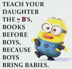 100 Of The Most Funniest Minions Quotes On Internet Funny Minion Pictures, Funny Minion Memes, Minions Quotes, Minions Love, Twisted Humor, Funny Signs, Funny Quotes, Qoutes, Funny Children Quotes