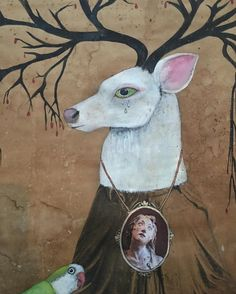 The Stag of Sorrows#deer #madonna #alexandraeldridge #france #predragpadjic #art…