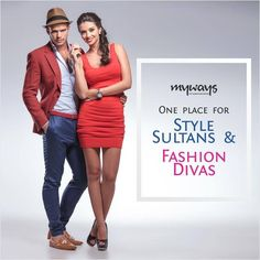 #MywaysStore is the place to be for all stylish guys and gals. Housing the world's best #Fashion brands under one roof, visit it and experience the magic.