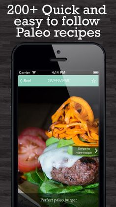 Caveman Feast - Paleo recipes for iphones By Fat-Burning Man