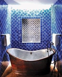 11+ images of beautiful bathrooms bathed in beautiful tile