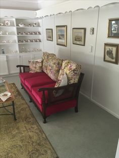 Classic Bergere sofa.