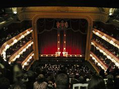 Be dazzled at the opera.