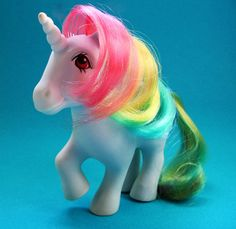 Moonstone My Little Pony 1980s by UncommonShop on Etsy, $12.00