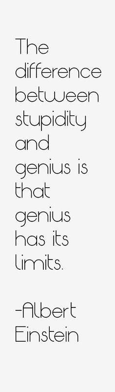 Albert Einstein Quotes …