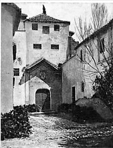 fachada del Monasterio de Santa Isabel la Real