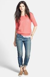 Hinge® Pullover, rag & bone/JEAN 'The Dre' Slim Boyfriend Jeans - LOVE IT!