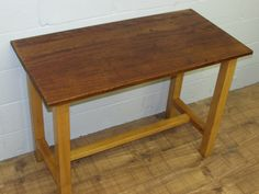 Vintage School Lab Bench by UNIQFurniture on Etsy