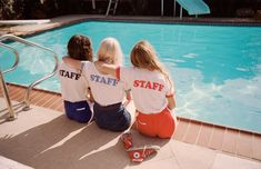 Summer Daze | Summer 2015 | 70s retro printed CAMP Staff Ringer Tees #CAMPCollection