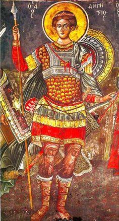 Πνευματικοί Λόγοι: Ο Άγιος Δημήτριος υπερασπιστής των Χριστιανών