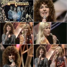 """Today in 1974 Abba were in London recording a performance of their single """"Waterloo"""" for the Christmas edition of Top Of The Pops... #Abba #Agnetha #Frida http://abbafansblog.blogspot.co.uk/2016/12/abba-date-19th-december-1974.html"""