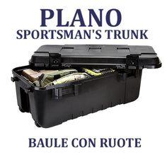 Plano Sportsman's Trunk Baule Polipropilene nero