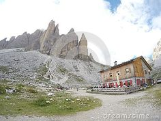 Tre Cime di Lavaredo the most photographed mountain in Italy
