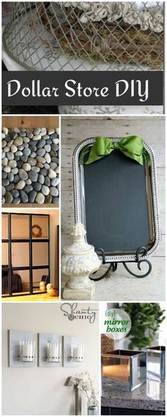 Dollar Store DIY • Tutorials and ideas!