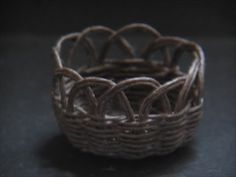 how to: miniature basket