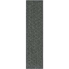@Overstock - Dress up any space with this natural sisal powerloomed rug made from sisal. This rug features designs inspired by today's Moroccan and Ikat patterns. Warm tones of charcoal grey with a fringeless border on this rug completes the look.http://www.overstock.com/Home-Garden/Palm-Beach-Charcoal-Grey-Sisal-Rug-2-x-8/7655351/product.html?CID=214117 $110.99