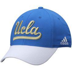UCLA Bruins adidas Sideline Structured Flex Hat - Blue/White