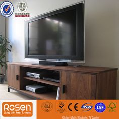 Modern design high quality led tv stand tv table