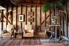Carolyn Murphy's Painting Studio (is apparently the garage. I love her for that!)