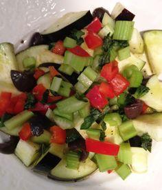 RAW VEGAN RECIPES: Portabello treats, Eggplant salad, Avocado soup