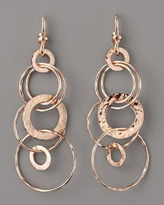 Ippolita Rose Multi-Link Jet-Set Earrings, Mini - Neiman Marcus