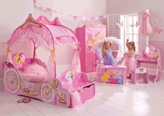 Sprookjesachtige+prinsessen+kinderkamer+ +Meisjeskamers+&+jongenskamers