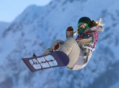 Jamie Anderson (USA) Gold Medalist - Slopestyle Snowboarding