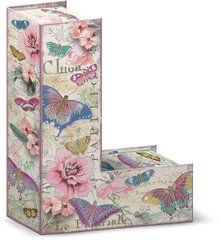 """Garden Party Decorative Letter """"L"""" Storage Box With Magnetic Closure"""