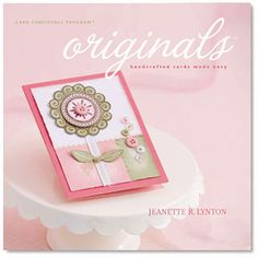 Discover Our Inspired Pick of the Best Handmade Cardmaking Books: Originals Card Confidence Program by Jeanette Lynton