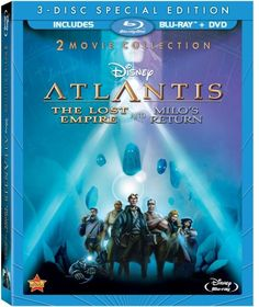 Atlantis is out on bluray- ok it's not that good a movie but it doesn't everyone want a full bluray collection of Disney animated films?