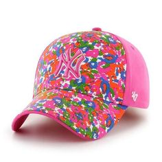 Youth Girl s New York Yankees NY Pink Hat de6939f59cf