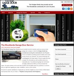The Woodlands Garage Door Service has an excellent record of customer service as they are a local garage door company in which the Hodges family has proudly been serving the community for over 30 years.