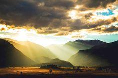 'Come Alive' - Moraine Meadow Sunset RMNP Colorado by JeffreyDobbs