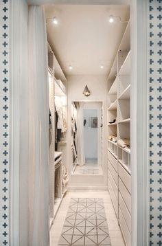 "Couples Scandinavian Design ""Breite ="" 745 ""Höhe ="" 1131 ""title ="" Couples Apartment Claire C. Walk In Closet Design, Bedroom Closet Design, Closet Designs, Basement Designs, Bedroom Designs, Walking Closet, Master Bedroom Closet, Bathroom Closet, Diy Bedroom"