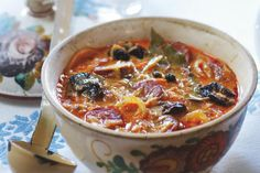 Kapustnica | Apetitonline.cz Soup Recipes, Cooking Recipes, Ham, Chili, Curry, Food And Drink, Health, Ethnic Recipes, Soups