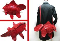 Japanese designer's goldfish bags are as elegant as the long-tailed beauties they're styledafter