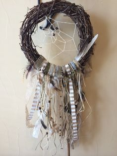 A personal favorite from my Etsy shop https://www.etsy.com/listing/233630673/customize-xl-dreamcatcher
