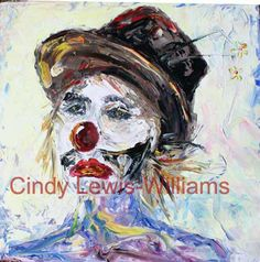 Sad clown by Cindy Lewis-Williams copyright Prints available on my website of my art ! Most Nutritious Foods, Healthy Foods To Eat, Advanced Maternal Age, Benefits Of Whole Grains, Healthy Seeds, Iron Rich Foods, South African Artists, No Calorie Snacks, Image Healthy Food